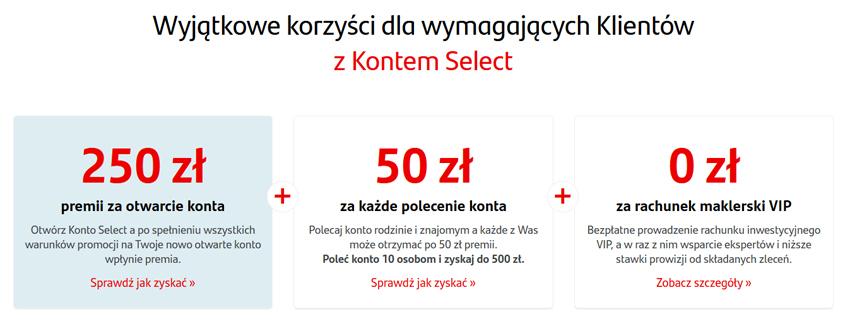 konto select