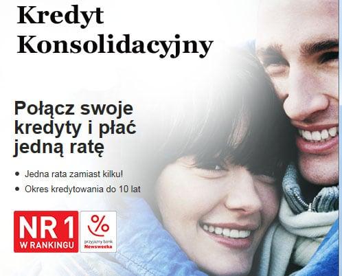 kredyt konsolidacyjny bez zaświadczen