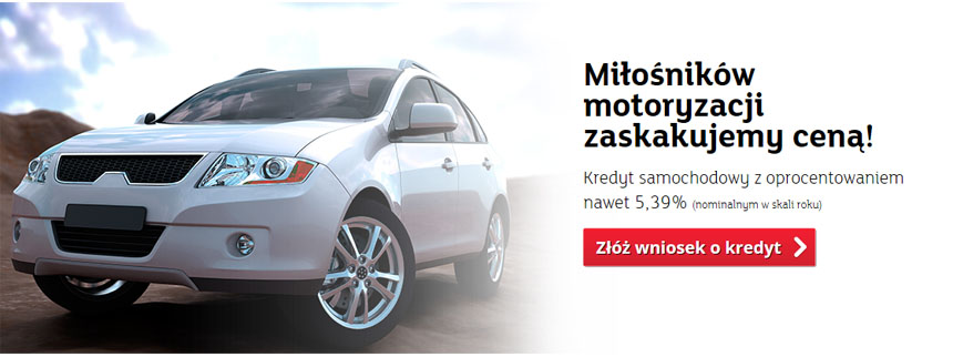 kredyt samochodowy online