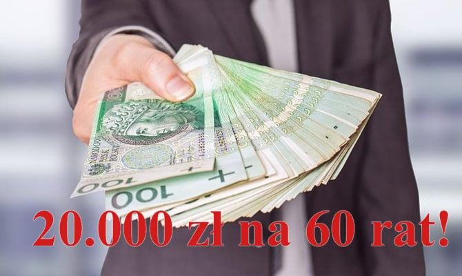 Pożyczka do 20.000 zł